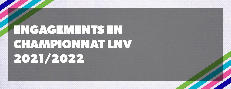 Engagements championnat LNV 2021/2022